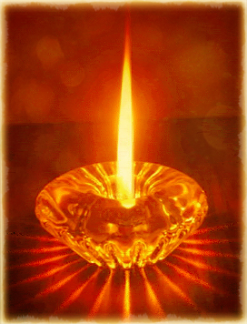 patterned-candle-image